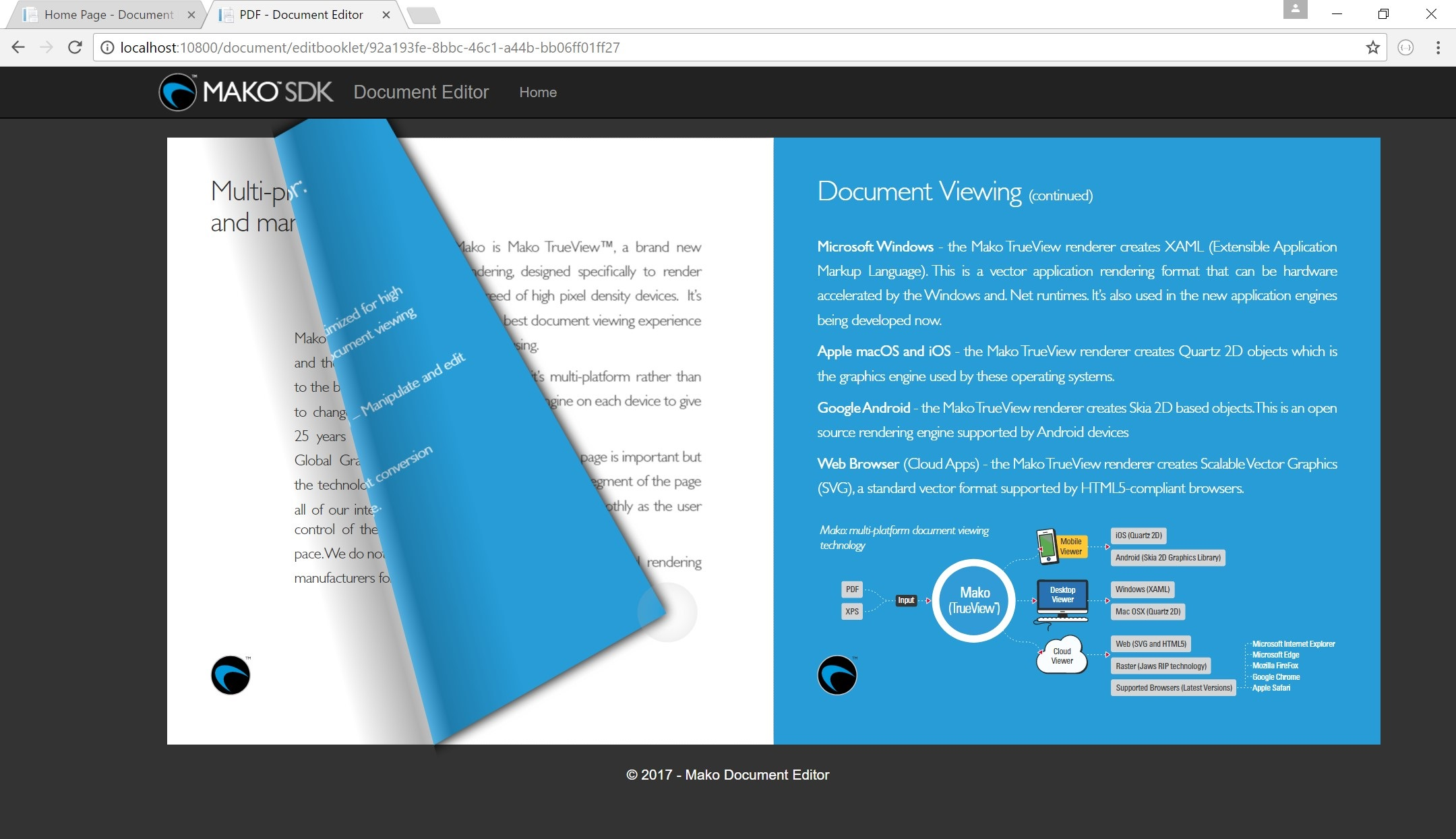 A booklet view to our SVG content